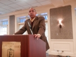 Tubby Smith, U of M Basketball coach speaks to Ham and Eggs November 2012